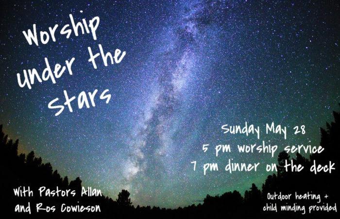 Worship under the stars